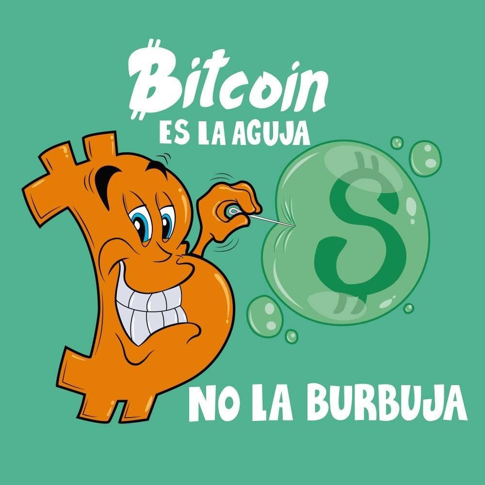 Por qué Bitcoin es más fuerte que la moneda local ?